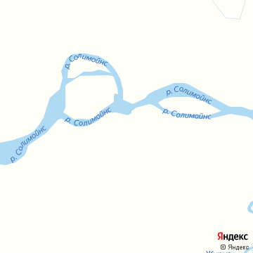 Карта Fonte Boa