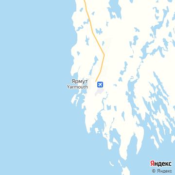 Карта Ярмута