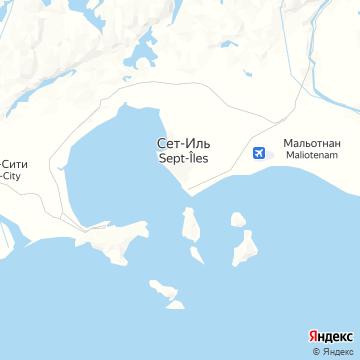 Карта Сета-Иля