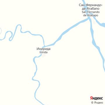 Карта Пуэрто-Инириды