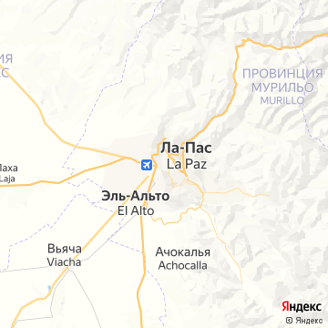 Карта Ла-Паса