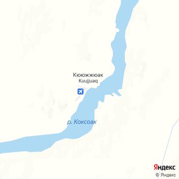 Карта Кууджуака