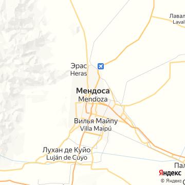 Карта Мендосы