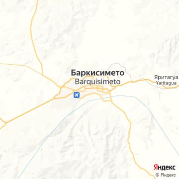 Карта Баркисимето