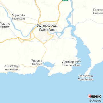 Карта Уэтерфорда