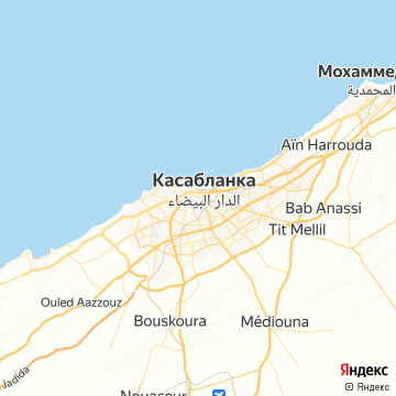 Карта Касабланки