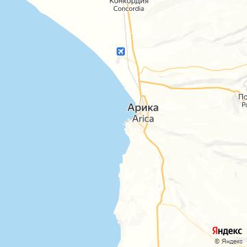 Карта Арики