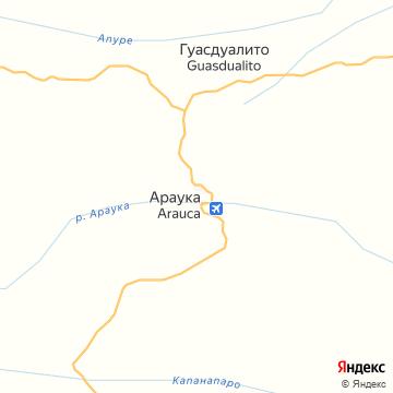 Карта Арауки