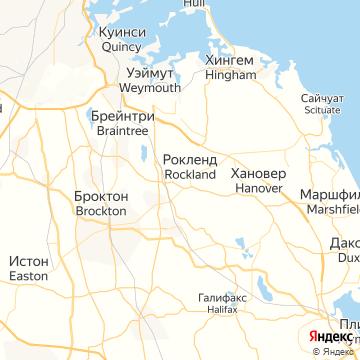Карта Рокленда