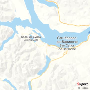 Карта Перито-Морена