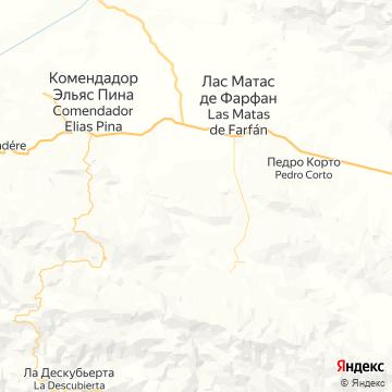 Карта Пунты-Каны