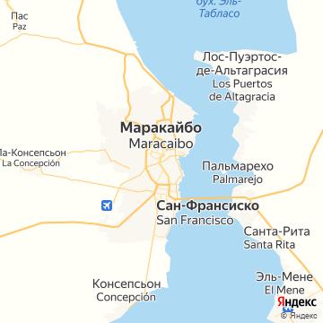 Карта Маракаибо