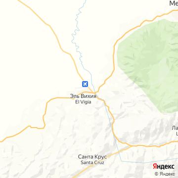 Карта Эль-Вигиа