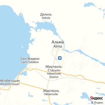 Карта Альмы