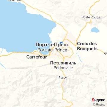 Карта Порта-о-Пренса