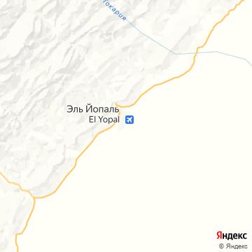 Карта Эль-Йопала