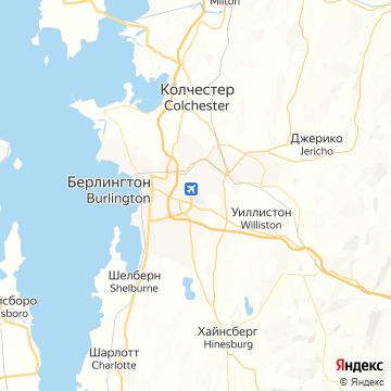 Карта Берлингтона