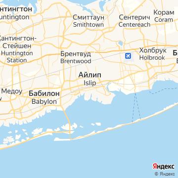 Карта Ислипа