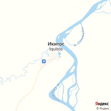 Карта Икуитоса