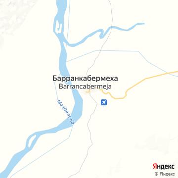 Карта Барранкабермежи
