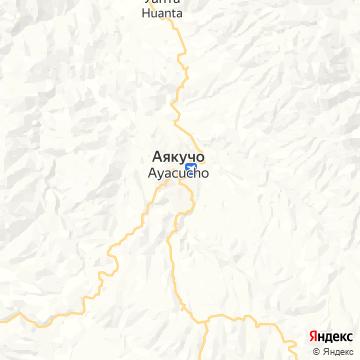 Карта Айякучо