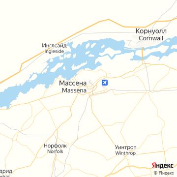 Карта Массены
