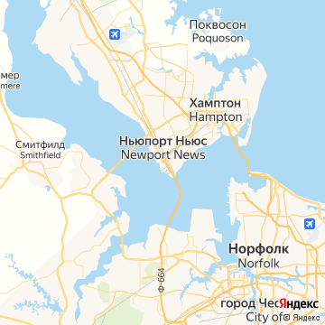 Карта Ньюпорта-Ньюса