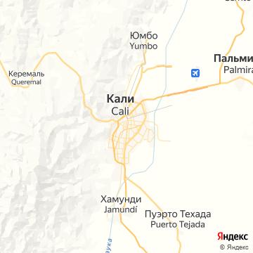 Карта Кали