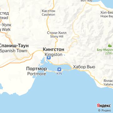 Карта Кингстона