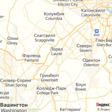 Карта Лорела