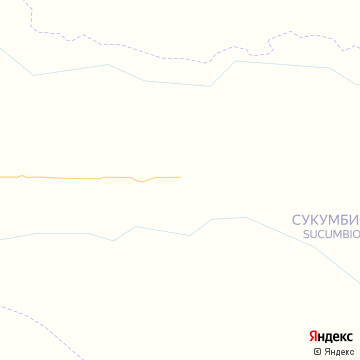 Карта Лага Агрио