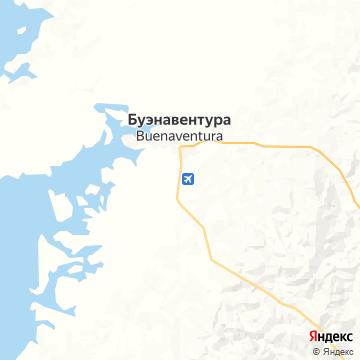 Карта Буэнавентуры