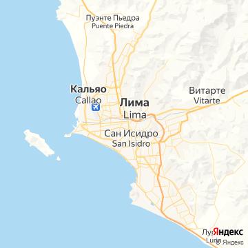 Карта Лимы