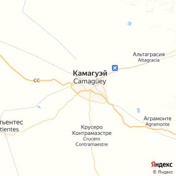 Карта Камагуэя