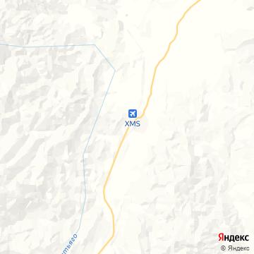 Карта Macas
