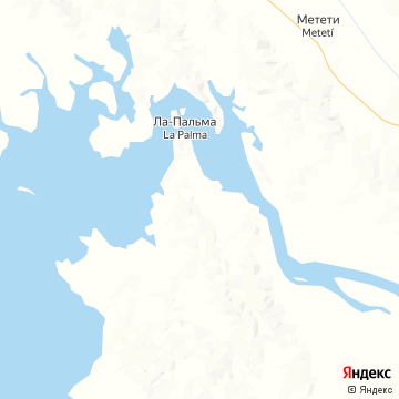 Карта Ля Пальма