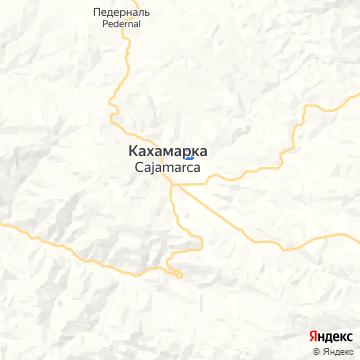 Карта Кахамарки