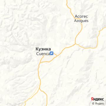 Карта Куенки