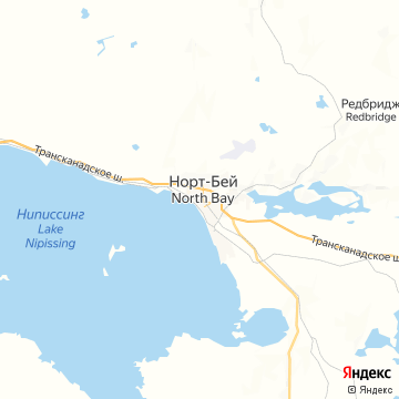 Карта Норта-Бея