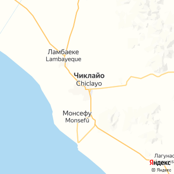 Карта Чиклайо