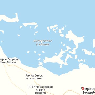 Карта Кайо Коко