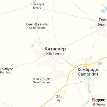 Карта Китченера