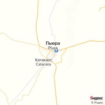 Карта Пиуры