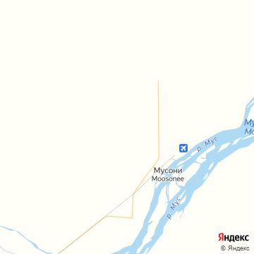 Карта Мусоней