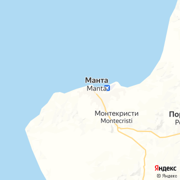 Карта Манты