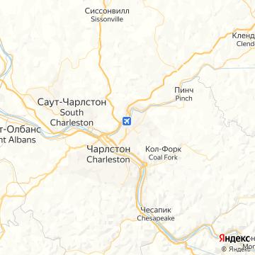 Карта Чарльзтона
