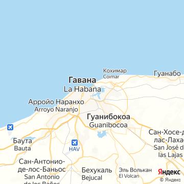 Карта Гаваны