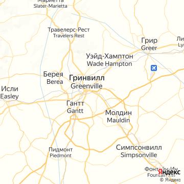 Карта Гринвилля