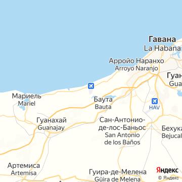 Карта Каймито
