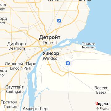 Карта Уинсора